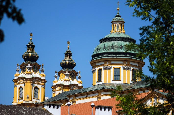 Photograph of Melk Abbey in Austria